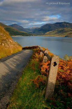 The road to Inverie