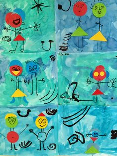 Miro-inspired project for the little ones.