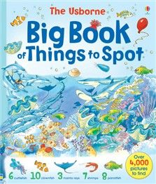 "big things to spot | Big book of things to spot"" at Usborne Children's Books"