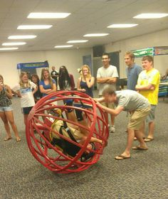 The one who planned this awesome team building activity. | 17 RAs You Wish You Had InCollege