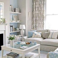 mavi-ve-gri-#ev-dekorasyonu