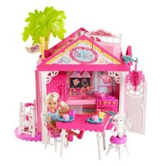 """Barbie Chelsea Doll and Clubhouse Playset - Mattel - Toys""""R""""Us Mattel Barbie, Toys For Girls, Kids Toys, Children's Toys, Barbie Chelsea Doll, Barbie Playsets, Barbie Doll House, Barbie Dream, Barbie Collection"""
