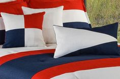 Top 12 Red Nautical Bedding Ideas