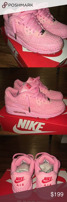 """Nike Air Max 90 """"Shanghai"""" City Pack Rare color way. No signs of wear. Worn once. Original box Nike Shoes Sneakers"""