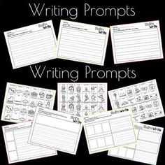 roll n write winter writing activities