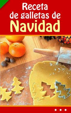 Receta de galletas de Navidad. ¡Fácil! Best Christmas Cookies, Christmas Goodies, Christmas Time, Cookie Desserts, Cookie Recipes, Cake Cookies, Cupcake Cakes, Pan Dulce, Mini Cheesecakes