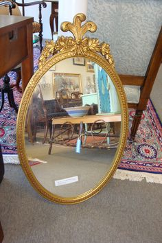 Federal style mirror @oneofakindconsignment.com