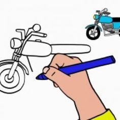 Les 125 meilleures images du tableau apprendre dessiner - Apprendre a dessiner une moto ...