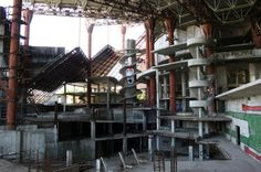 This abandoned water park in Russia was never completed