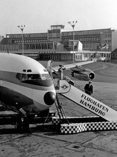 Flughafen Hamburg Fuhlsbüttel historisch
