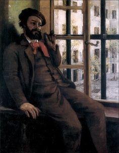 Gustave Courbet · Autoritratto a Sainte-Pélagie · 1873-74 · Musée Gustave Courbet · Ornans