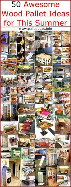 50 Awesome Wood Pallet Ideas for This Summer