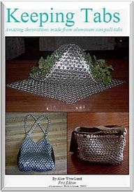 This new craft ebook contains new techniques and tools for linking pull-tabs into chainmail. Learn how to make baskets, purses, vests, bracelets, skirts, dresses all made entirely from aluminum can pop-top chain maille. $10.75