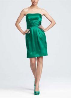 6eee9286190 Bridesmaid Dresses Under  100 - David s Bridal..emerald green Davids Bridal  Bridesmaid Dresses