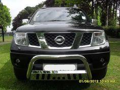 EC Approved To Fit 2012-2014 Nissan Navara D40 Bull Nudge Bar Front A Bar EU
