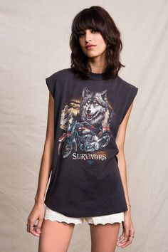 Vintage Harley Davidson Muscle Tee #urbanoutfitters