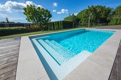 Now a day's if you are searching for the quality fiberglass swimming pool for your enjoyment then Elite pool builders will be the exceptional preference for you. They supply the first-rate fiberglass swimming pool construction in Toronto Swimming Pool Mosaics, Swimming Pools Backyard, Swimming Pool Designs, Pool Landscaping, Indoor Swimming, Riviera Pool, Pool Prices, Swimming Pool Construction, Pool Contractors