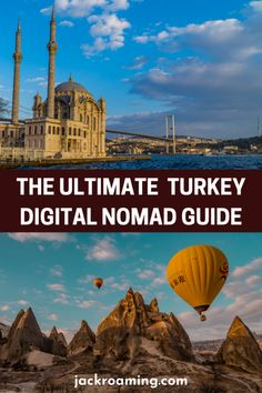 The Ultimate Guide to Turkey for Digital Nomads | Jack Roaming Top Travel Destinations, Europe Travel Guide, Best Places To Travel, Travel Abroad, Asia Travel, Cool Places To Visit, Travel Guides, Istanbul Travel, Turkey Travel