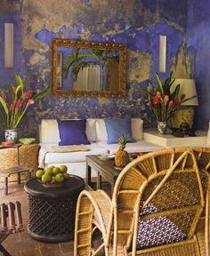 La casa colonial de Lina Botero en Colombia