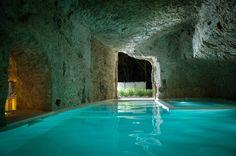 Domus Civita / Studio F in Civita di Bagnoregio, Italy #swimmingpool