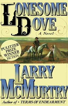 Lonesome Dove by Larry McMurty, June 2016 Bookmark: Favorite Reads of Katie, Library Page