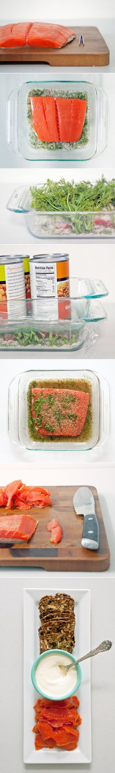 How to Make Gravlax, Step by Step (or cured salmon for those who wonder what it is)