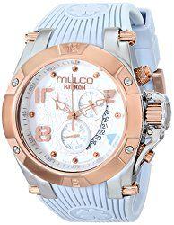 MULCO Unisex MW5-2029-413 Analog Display Swiss Quartz Grey Watch
