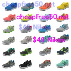 great site for all #nikes 50% off omg
