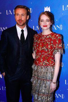 Ryan Gosling et Emma Stone se Rendent à Paris Après Avoir Conquis les Golden Globes