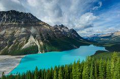 Peyto Lake, Banff NP, Alberta Cananda - Photo by Perri Schelat