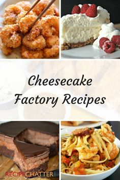 Cheesecake Factory Copycat Recipes to Make at Home
