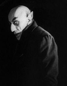 Max Schreck, Nosferatu, 1922.  By far,  the creepiest vampire ever.