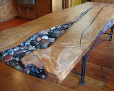 What Everyone Is Saying About Woodworking Plans Ways Useful Wood Projects is Entirely Overvalued. Epoxy Wood Table, Epoxy Resin Table, Reclaimed Barn Wood, Old Wood, Repurposed Wood, Wood Table Design, Resin Furniture, Furniture Market, Into The Woods