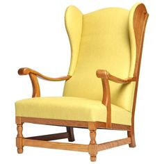 Scandanivian Wingback Chair 1