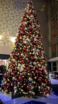 Beautiful #Christmastree  at the Aura shopping  center in #Novosibirsk 2015