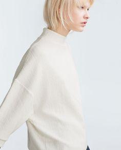 Imagem 1 de SWEATSHIRT JACQUARD da Zara