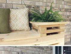 tuto-pour-fabriquer-un-banc-palette-a-partir-de-palettes-de-bois-polis-decoration-de-plantes-vertes
