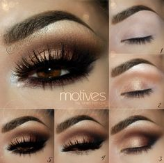 Step By Step Smokey Eye Makeup Tutorials                                                                                                                                                                                 More                                                                                                                                                                                 More