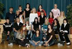 Jyväskyläläisen lukion kakkoset 2005, muija toka rivi, maastolippis