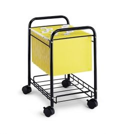 "Safco 5224 - 17-1/4""W Desk Side File Cart | Sale Price: $44.00"
