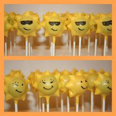 I Pop Cakes: Sunshine cake pops