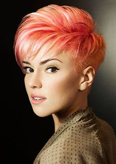 pink blonde hair....So me...This is next!!!