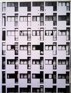 architectureofdoom:  'Le Plateau' building, Casablanca, Gaston Jaubert with Pierre Coldefy, 1957