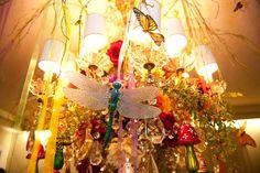 chandelier embellished