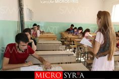 تقديم امتحانات الثانوية والإعدادية الحرة بمدينة عين العرب باللغة الكردية لأول مرة (فيديو)