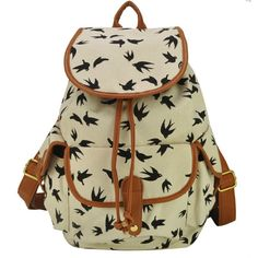 clothes for middle school girls for 2014 | women-canvas-printing-hiking-backpacks-2014-fashion-shoulders-school ...