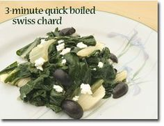 minute swiss chard chard should be boiled to release the acids and ...