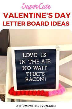 Cute letter board ideas for Valentine's Day. Decorate your home for Valentine's by using your letter board. #Valentine'sDay #valentines #holiday #letterboard #quotes #sayings #funny #cute #homedecor #homeaccessories Valentines Day Holiday, Valentine Wishes, Valentines Day Funny, Valentines Day Activities, Valentines Day Decorations, Valentines For Kids, Valentine Day Crafts, Holiday Fun, Valentine's Day Letter