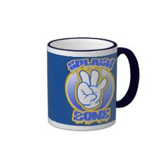 Splash Zone Coffee Mug - Blue Ringer Mug