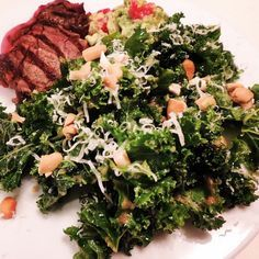 Kale Salad with the MOST WONDERFUL Peanut Dressing Ever... a copycat Hillstone's (Houston's) recipe. This is one of our all-time favorite sides. Simply place ingredients in a blender and blend. Pairs well with anything.